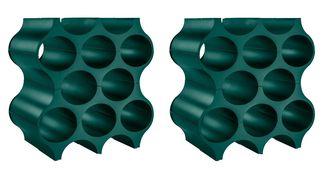 Koziol Wijnrekken Stapelbaar Set-Up Groen - 2 Stuks